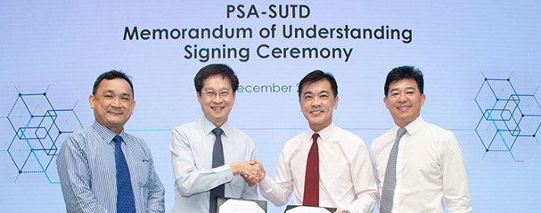 PSA and SUTD Collaborate to Grow Talent for Singapore's Smart Port