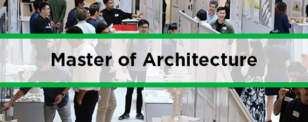 Info Session: Master of Architecture