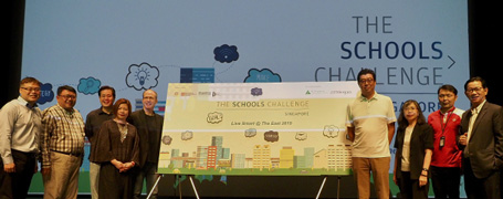 Secondary School Students Develop STEM Solutions for the East in Inaugural Schools Challenge Singapore