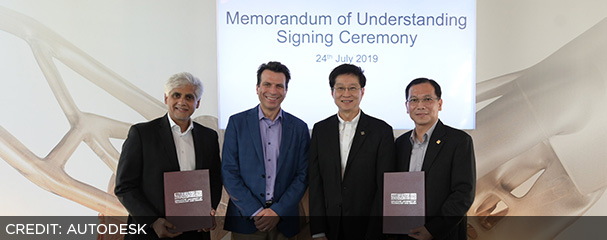 SUTD Partners Autodesk to Equip the University with Cutting-Edge AI-Based Design Capabilities