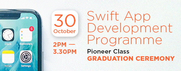 Swift App Development Programme 2020: Graduation