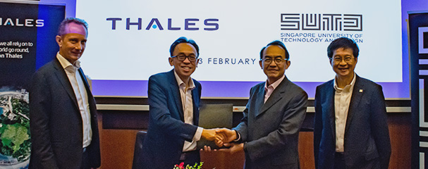SUTD and Thales collaborate to accelerate the development of smart aviation technologies